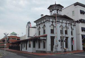 Gettysburg Train Station, History of Gettysburg, Gettysgburg Railroad Company